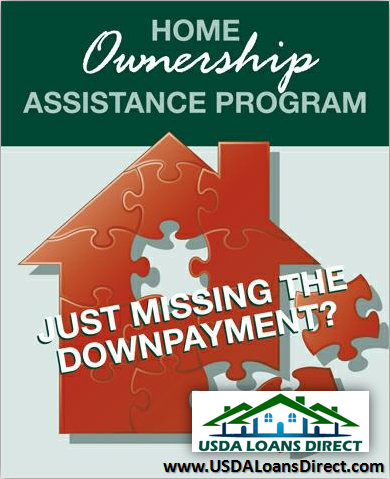 Usda down payment assistance for Building a house with usda loan