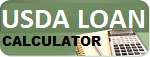 USDA HOME MORTGAGE LOAN CALCULATOR for USDALoansDirect.com